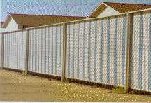 Fence Weave Privacy Fence Inserts-White | MyGreatHomeAndYard Fences